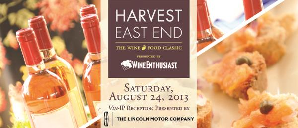 HARVEST EAST END: Presented by Wine Enthusiast!