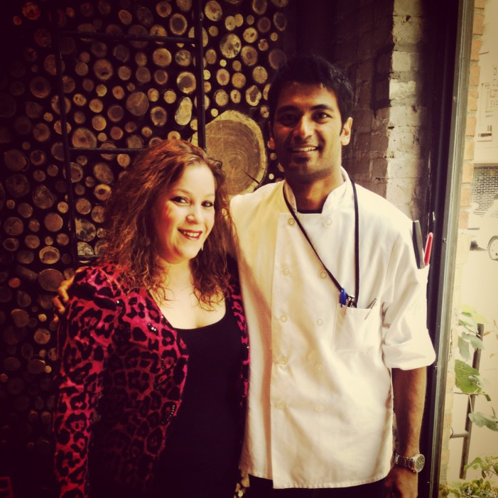 Chef Jhonathan Rupchand; Wildly Talented!