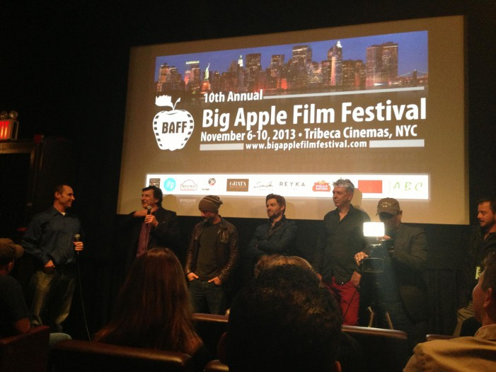 Bulleit Frontier Whiskey & The Big Apple Film Fest!