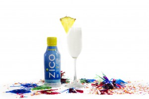 ZICO Pineapple Champage Cooler New Years