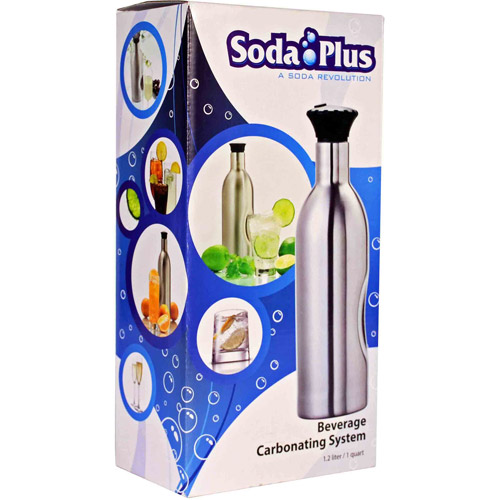Carbonate Your Wine With Soda Plus!
