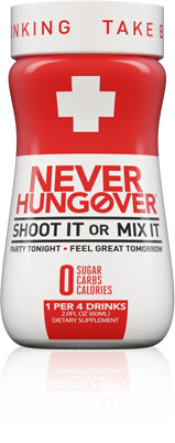 Never Hungover: Your Holiday Helper!