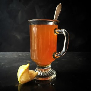 Tennessee Toddy Cocktail with American Born Apple Pie Moonshine