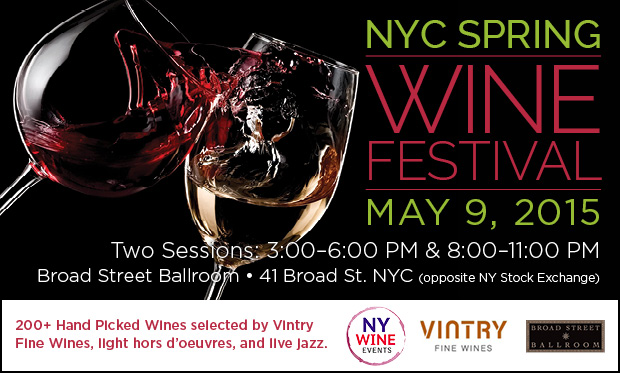 NYC Spring Wine Festival 2015!