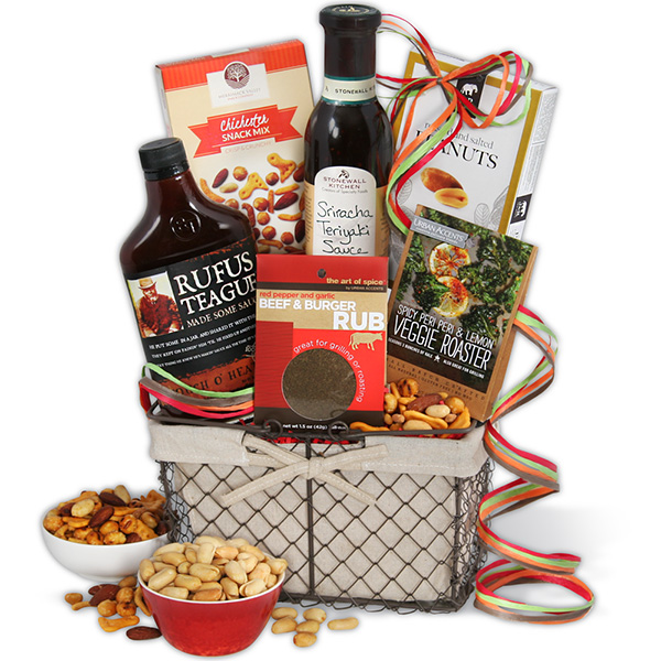 Barbecue Boss Grilling Bbq Gift Basket Large Father S Day Guide Somm In The City