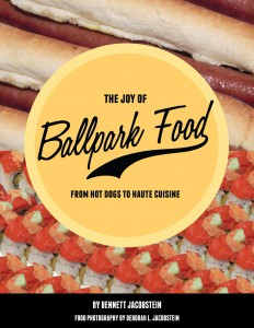The Joy of Ballpark Food Cover