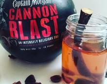 """Captain Morgan """"Cran"""" Hot Toddy!"""