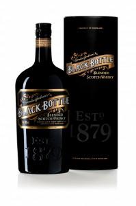 Black Bottle package