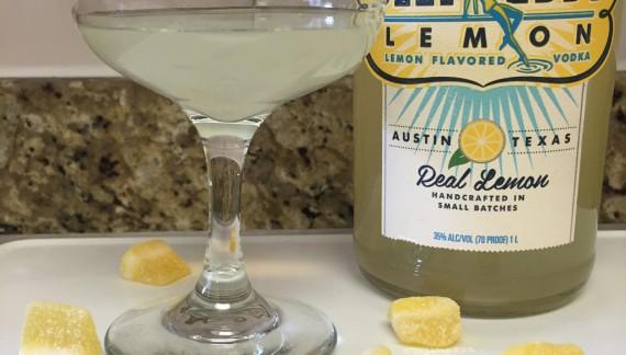Sour Jack's Lemon Martini!