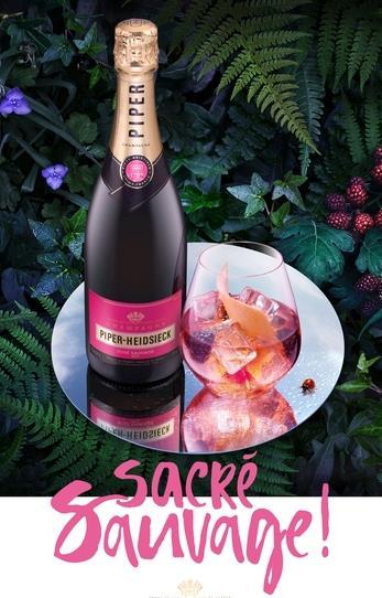 Piper-Heidsieck Rosé Sauvage!