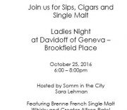 Ladies Night: Sip & Smoke! - Somm In The City