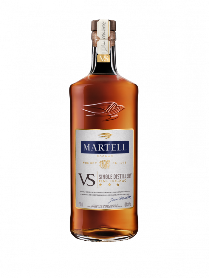 Martell Launches Martell VS Single Distillery Cognac!