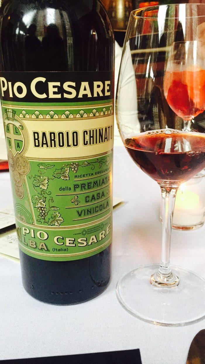 Pio Cesare Chinato & Vermouth!