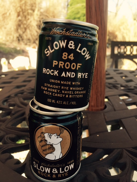Slow & Low Rock and Rye!