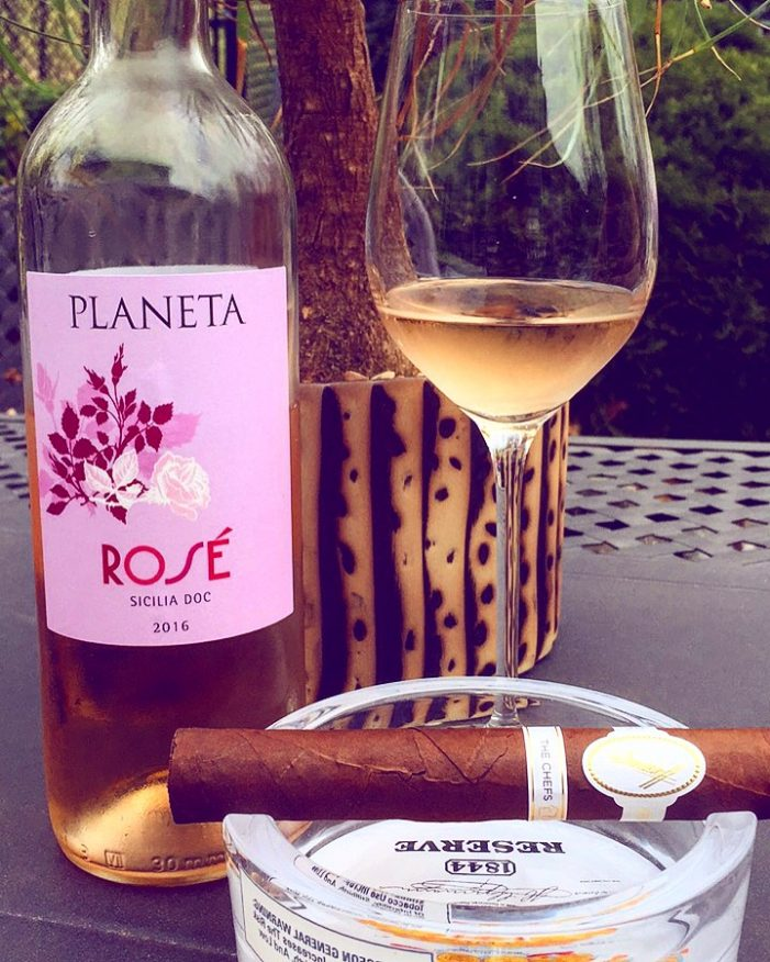 Dare to Pair: Planeta Rosé & Davidoff Chef's Edition!
