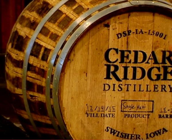 Cedar Ridge Distillery!