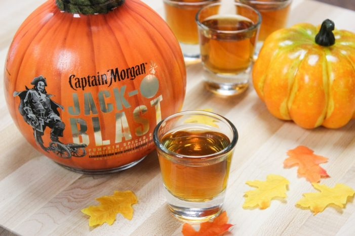Fall Favorites with Captain Morgan Jack-O-'Blast!