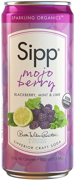 Sipp Sparkling Organic Sodas!