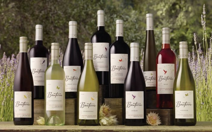 Celebrate Earth Day with Bonterra Wines!