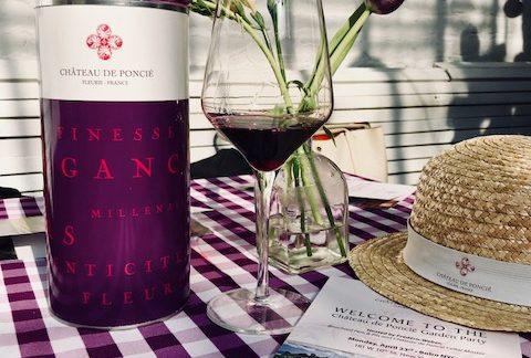 Garden Party Wines with Château de Poncié!