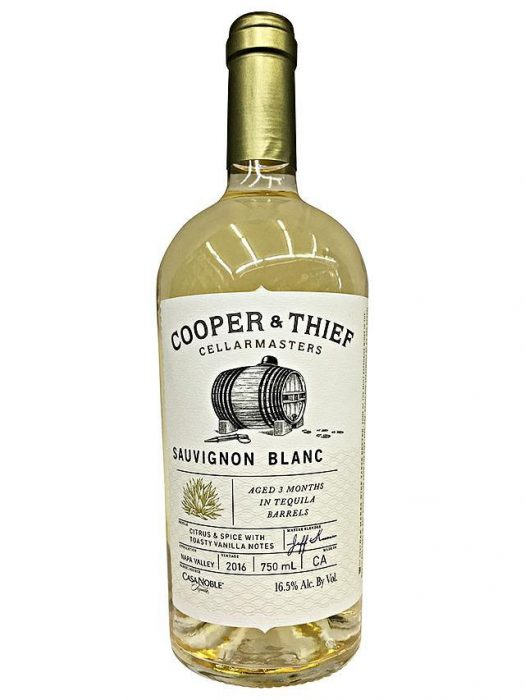 Sauvignon Blanc aged in Tequila Barrels? It's A Thing!