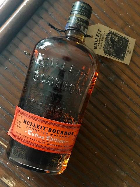 Bulleit Bourbon Tattoo Edition!