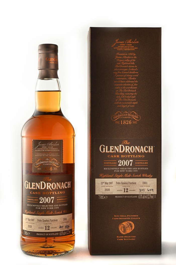The Glendronach Single Cask #1901 NYC Edition!