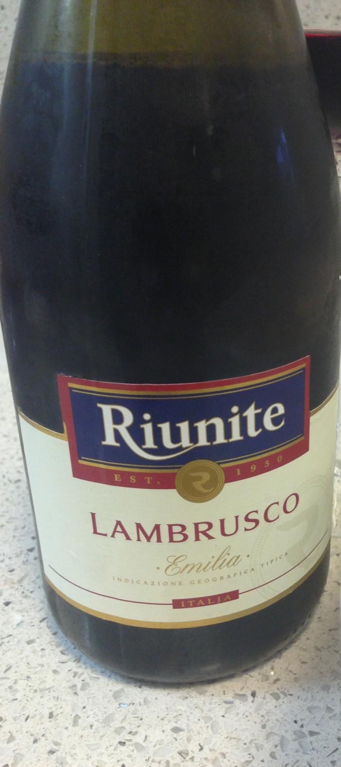 Lambrusco… One of the many joys of Emilia Romagna!