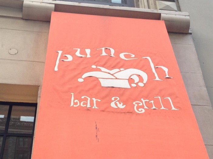 Punched by Flavor! At Punch Bar & Grill!