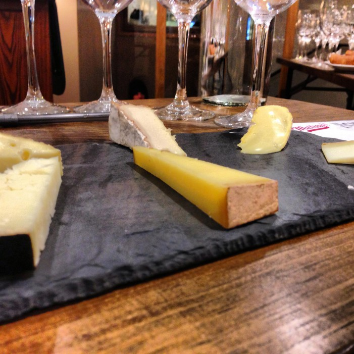 Sparkling Wine & Cheese At Murray's Cheese NYC!