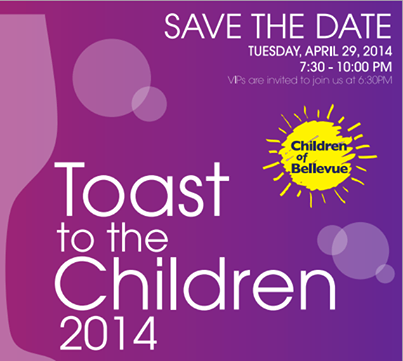 """""""Toast to the Children"""" Annual Gala!"""