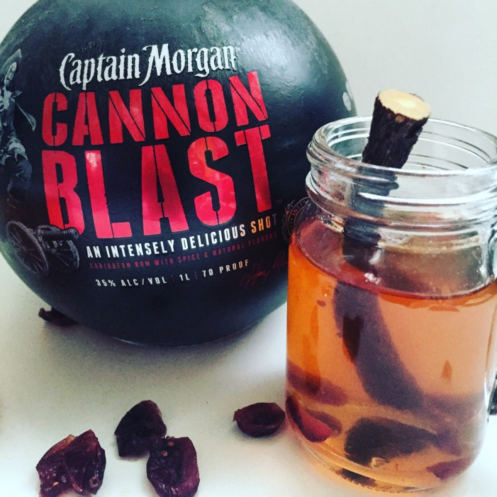 "Captain Morgan ""Cran"" Hot Toddy!"