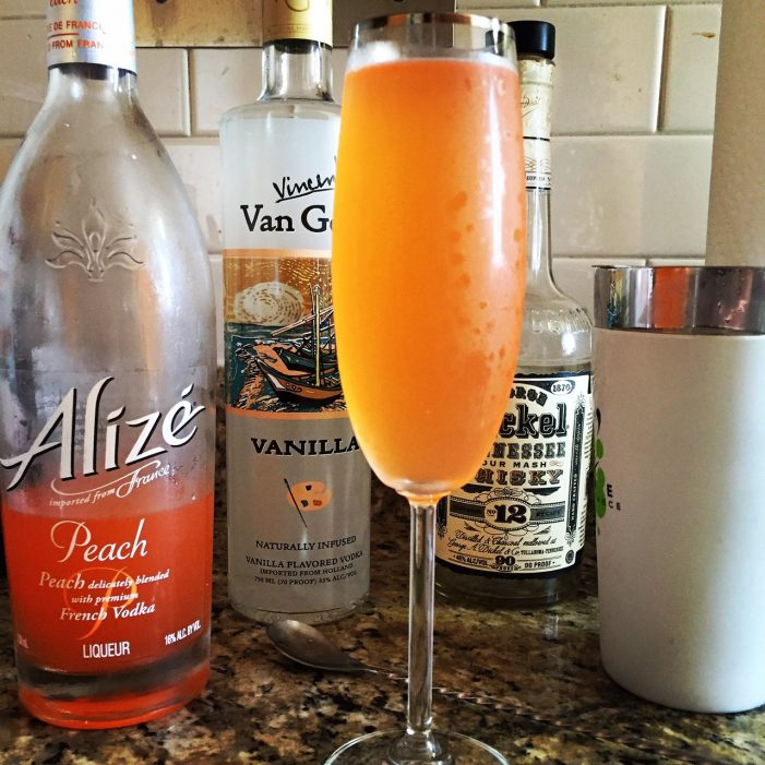 Alizé Peach is Peachy Keen!