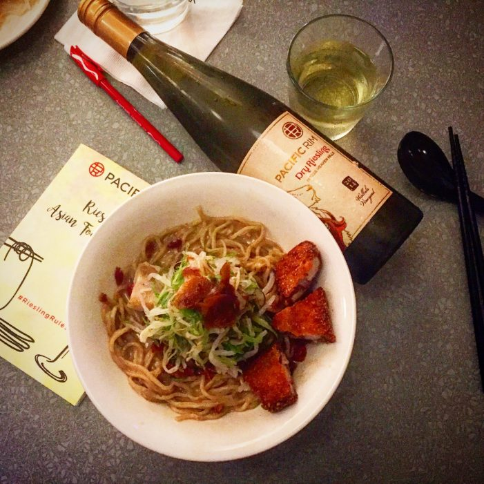 Riesling & Asian Food Pairings!