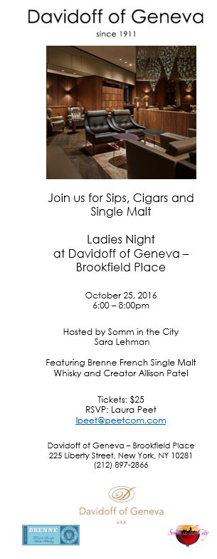 Ladies Night: Sip & Smoke!