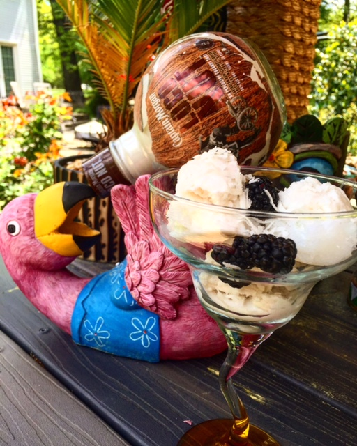 Captain Morgan LocoNut Rum Sorbet!
