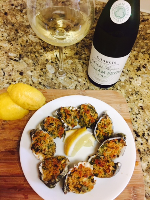A Perfect Oyster Pairing: William Fèvre Chablis