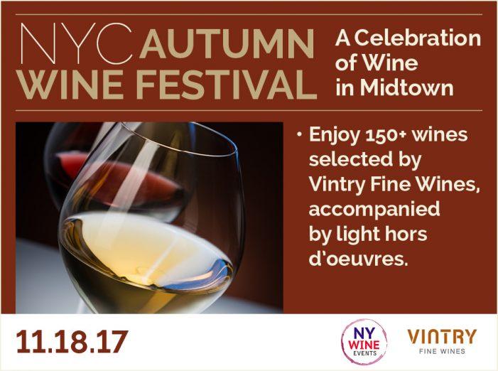 NYC Autumn Wine Festival!
