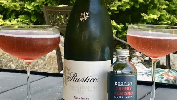 Wine Cocktails: Nino Franco Summer Kir