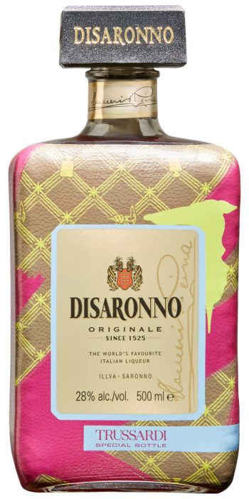 Hot Holiday Find: DISARONNO wears TRUSSARDI