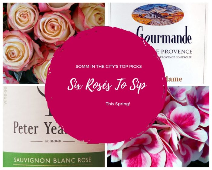 Six Rosés To Sip This Spring!