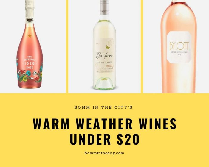 Warm Weather Wines $20 and Under!