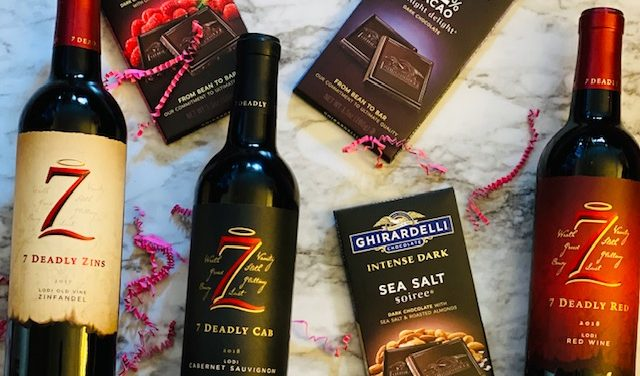 Wine & Chocolate: A Valentines Day Pairing!